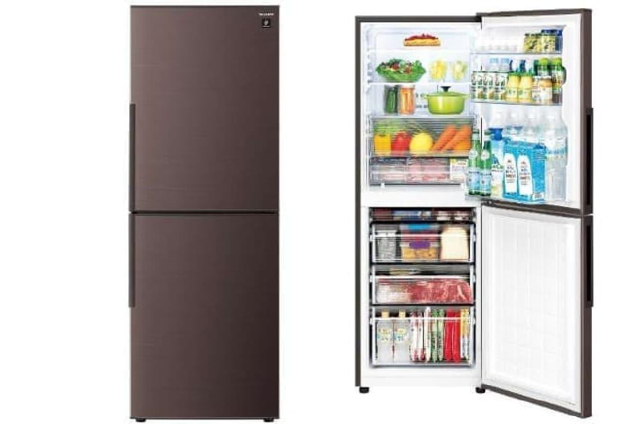 中型冷蔵庫「SJ-PD28E」