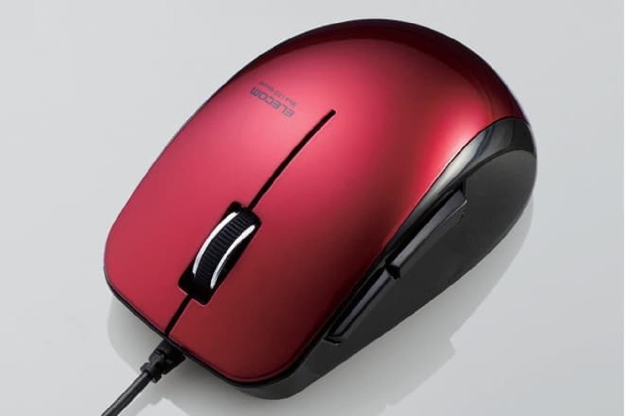 BlueLED有線マウス「M-BL28UBS」