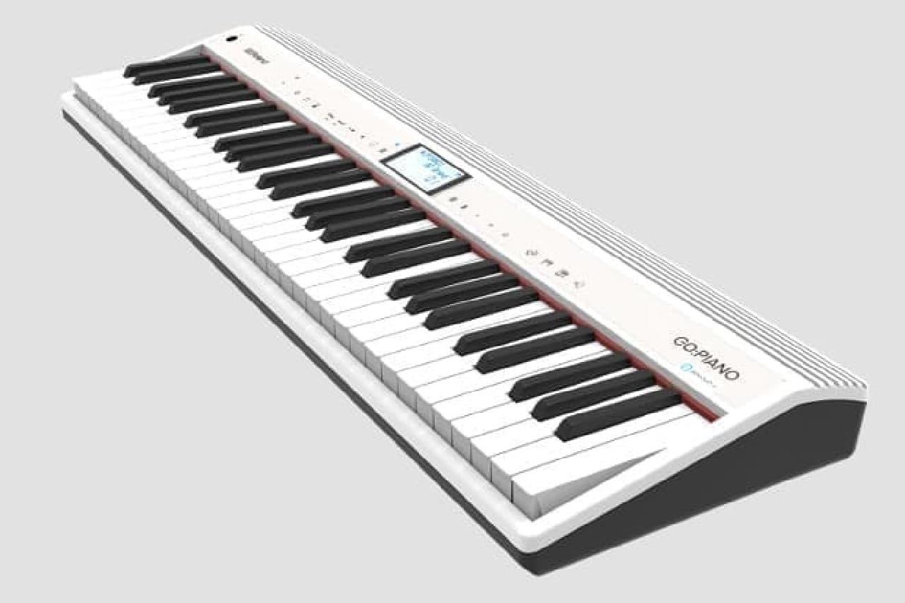 音声アシスタント搭載の電子キーボード「GO:PIANO with Alexa Built-in」