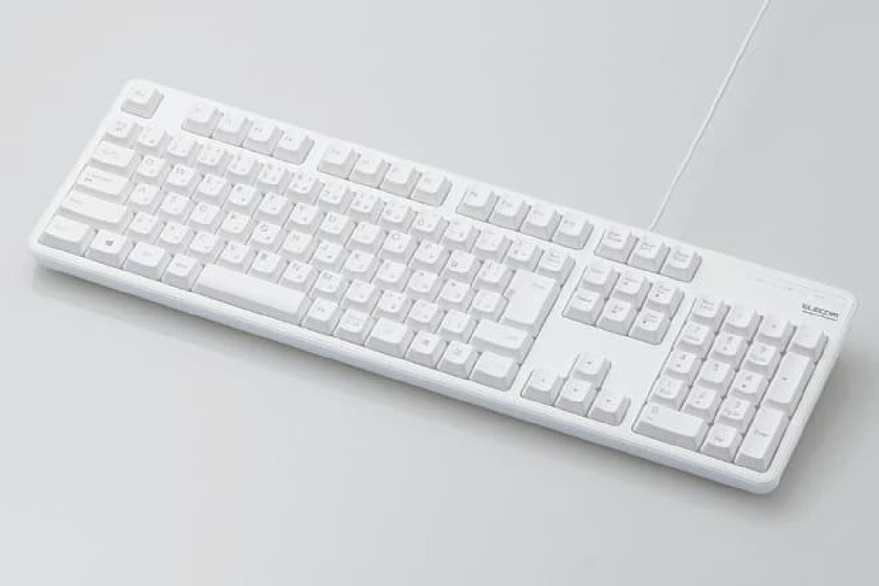 有線フルキーボード「TK-FCM104」