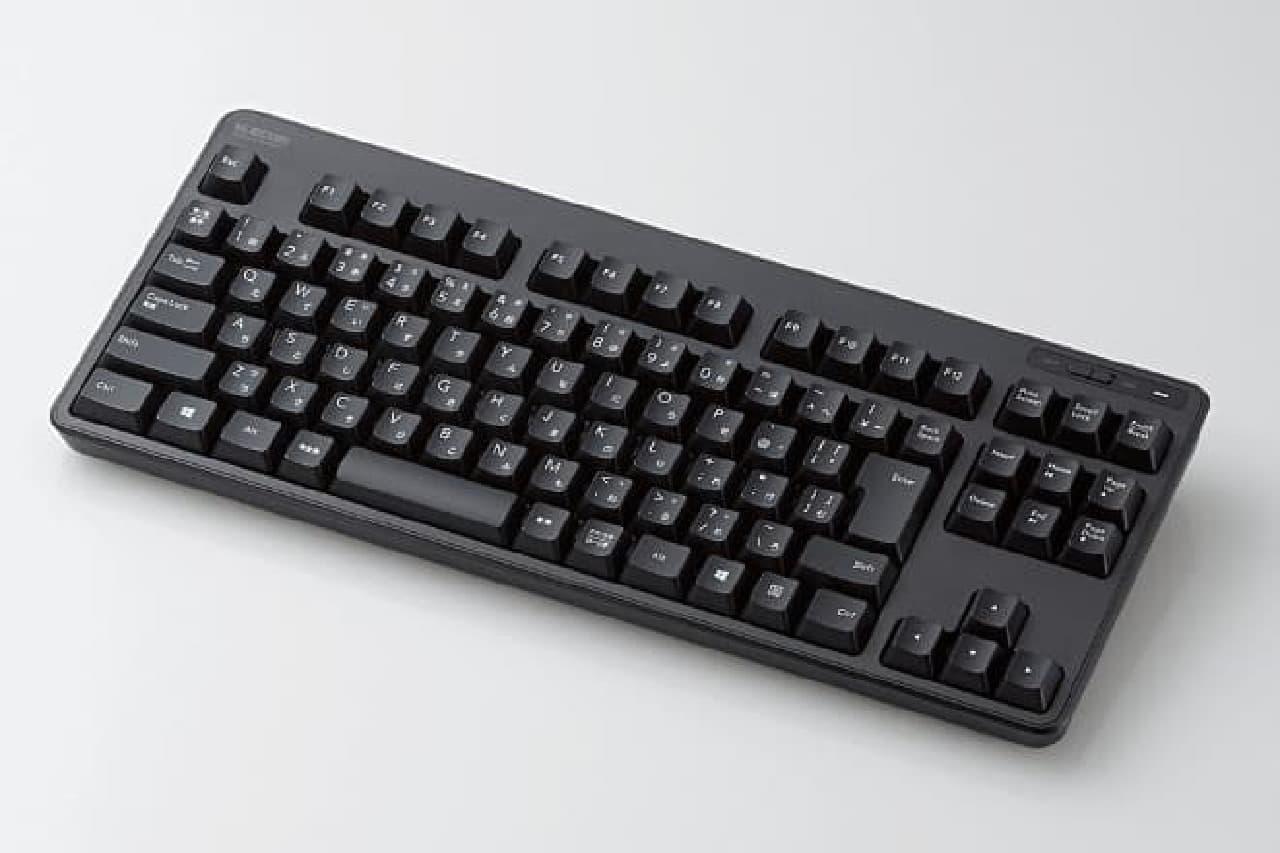 無線コンパクトキーボード「TK-FDM105」