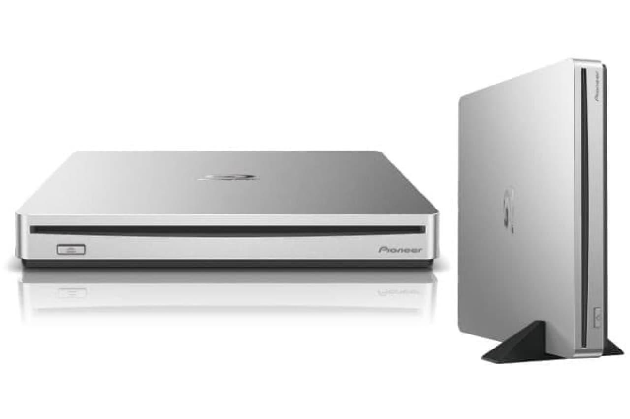 Mac用ポータブルブルーレイ/DVD/CDライター「BDR-XS07JM」