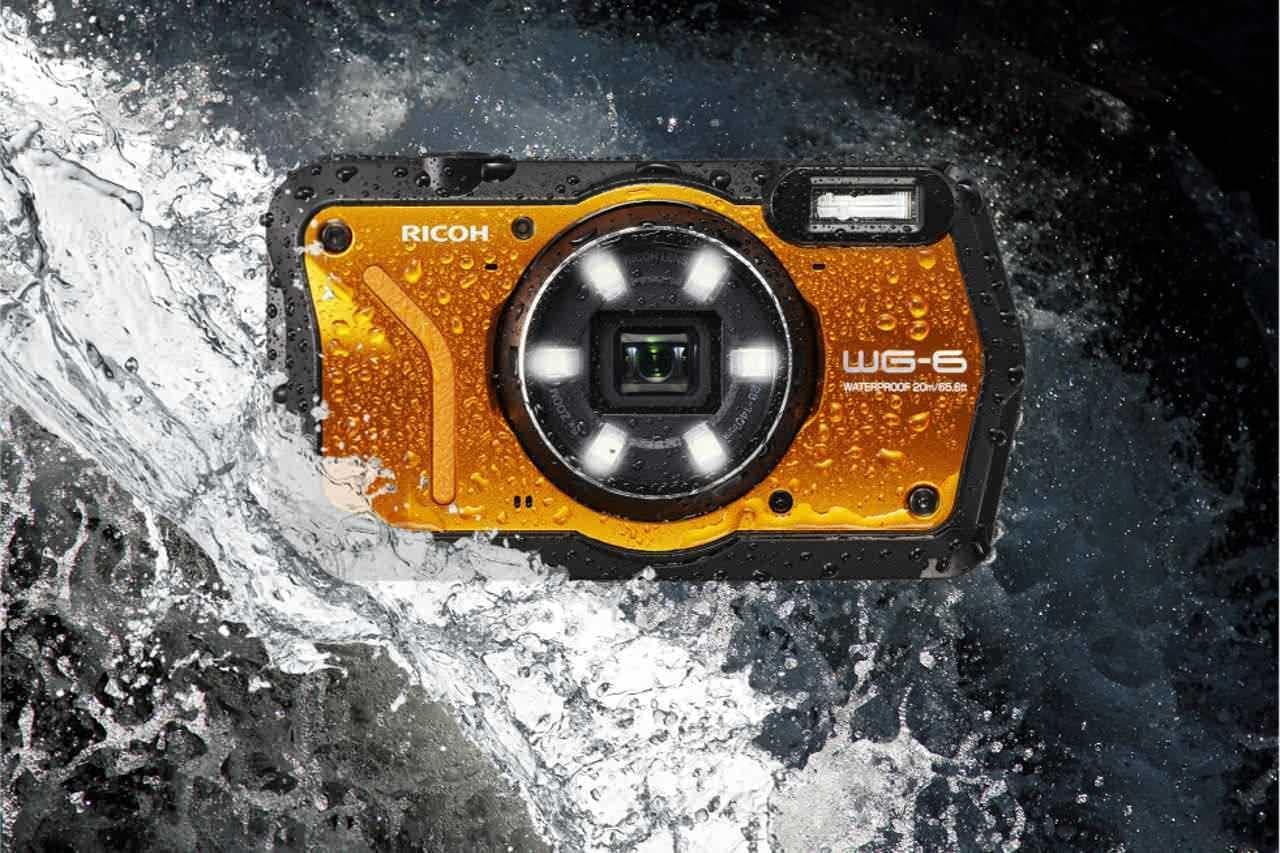 水深20mで撮影できるコンデジ「RICOH WG-6」