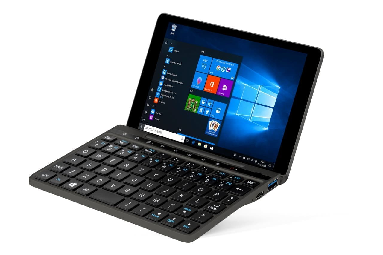 7型UMPC「GPD Pocket 2 Black」8GBメモリーモデル