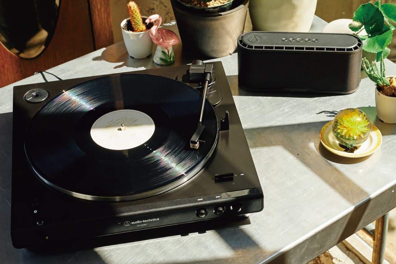 初心者も楽しめるフルオート式レコードプレーヤー「AT-LP60X」