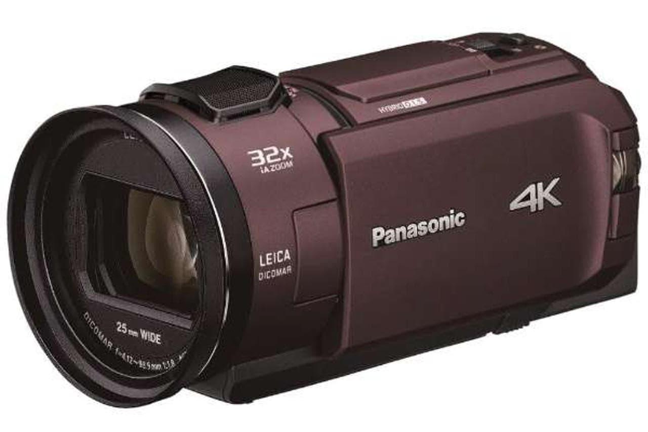 4Kビデオカメラ「HC-WX2M/WZX2M」