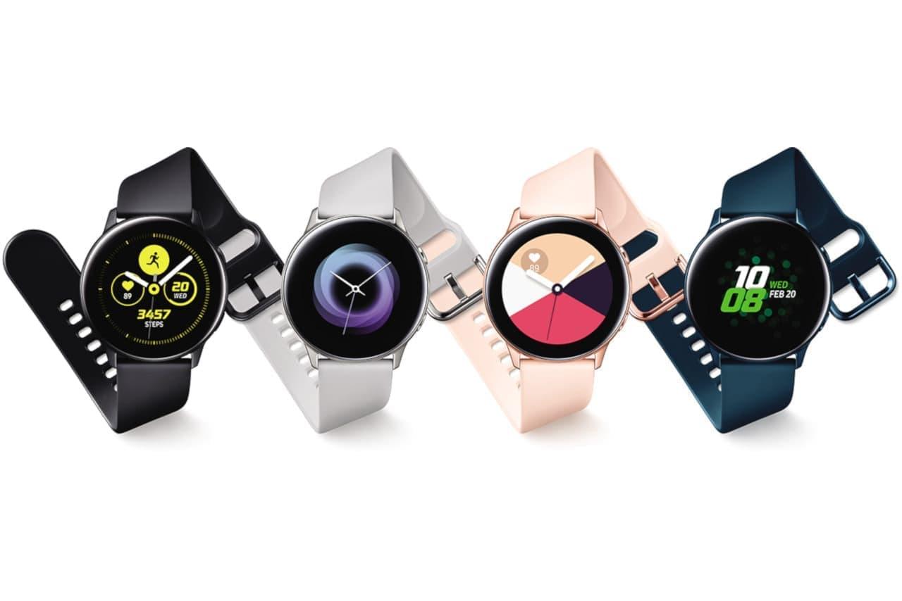重さ25gの新型スマートウォッチ「Galaxy Watch Active」―スマホからワイヤレス充電も可能