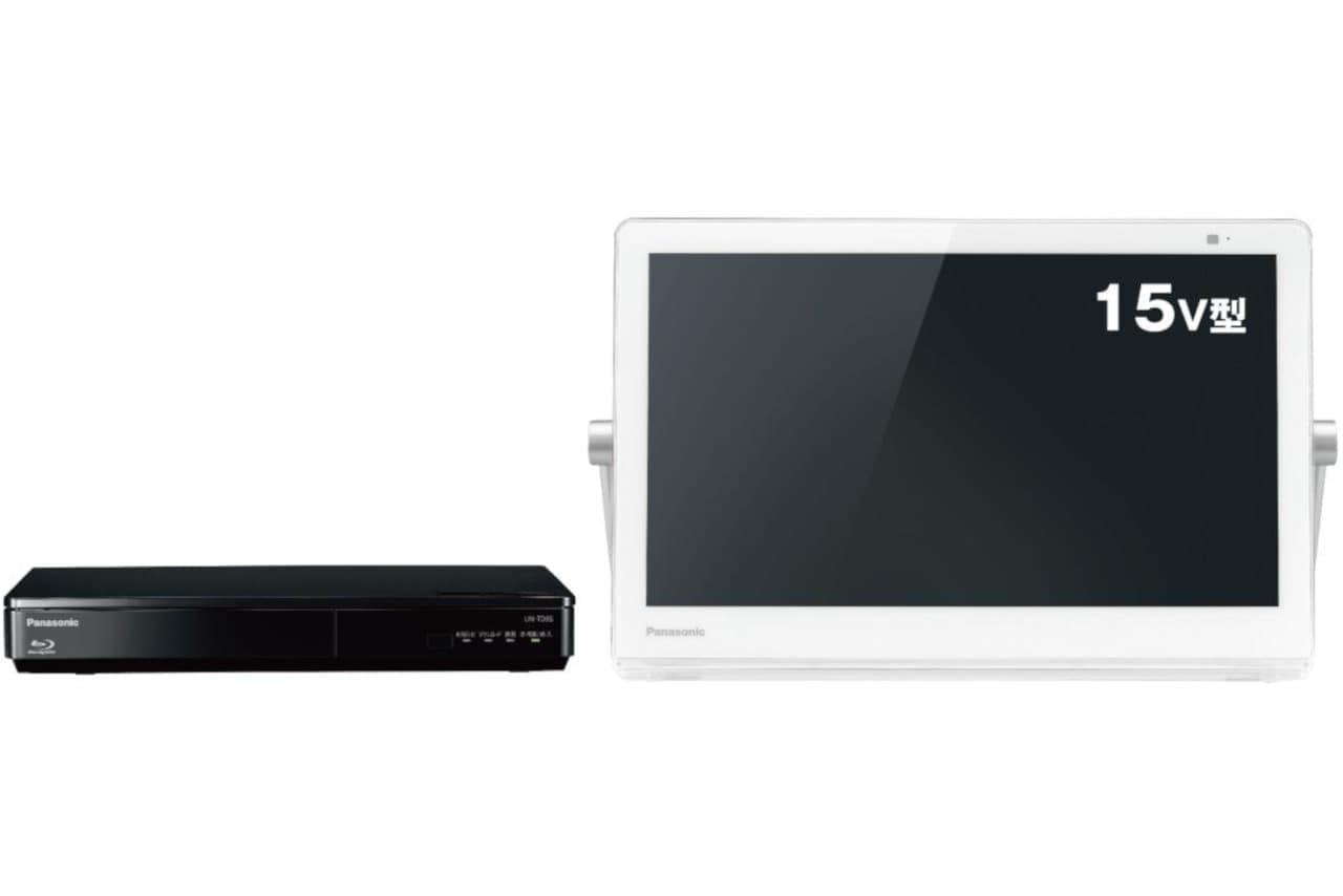 ポータブルテレビ「プライベート・ビエラ」シリーズの新製品「UN-15TD9」