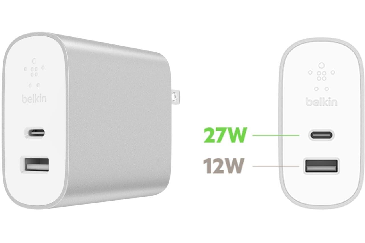 PD対応、出力39Wの小型高速充電器「BOOST↑CHARGE USB充電器」