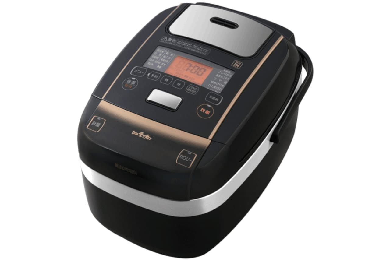 アイリスオーヤマの新圧力IH炊飯器「KRC-PC50-B」