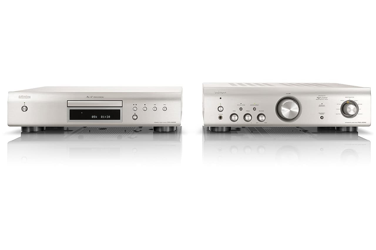 デノン、NEシリーズ後継のエントリーCDプレーヤー「DCD-600NE」とプリメインアンプ「PMA-600NE」