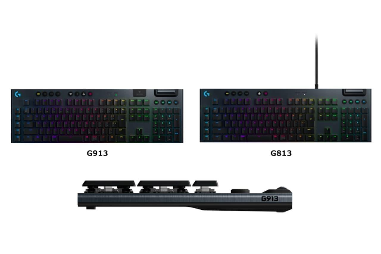 3種のメカニカルスイッチを選べる無線ゲーミングキーボード「G913」