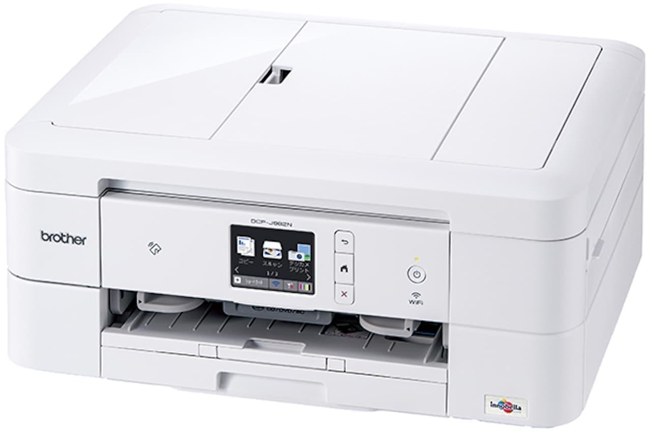 家庭用インクジェットプリンター「DCP-J982N-W」