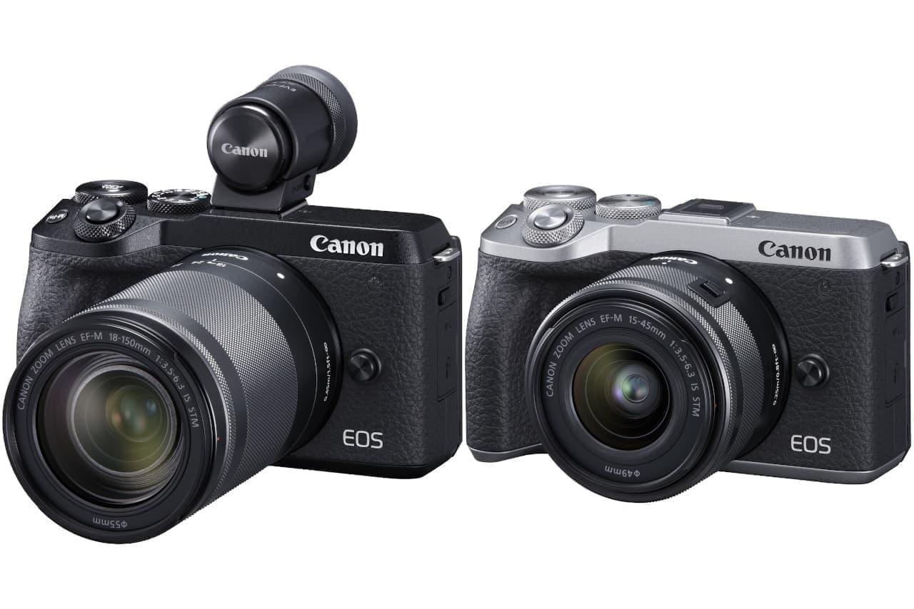 キヤノンの小型軽量ミラーレスカメラ「EOS M6 Mark II」