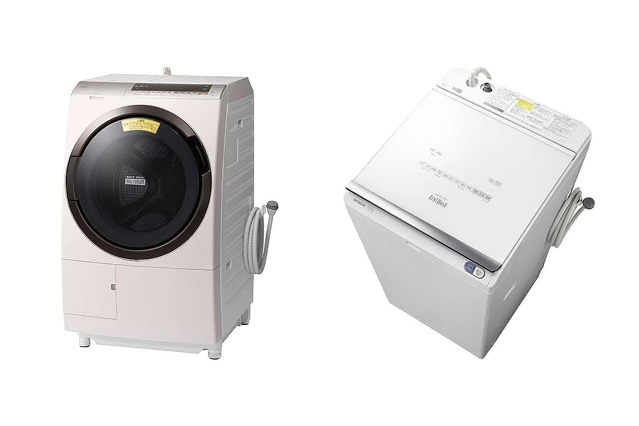 スマホとつながるドラム式洗濯乾燥機「BD-SX110E」