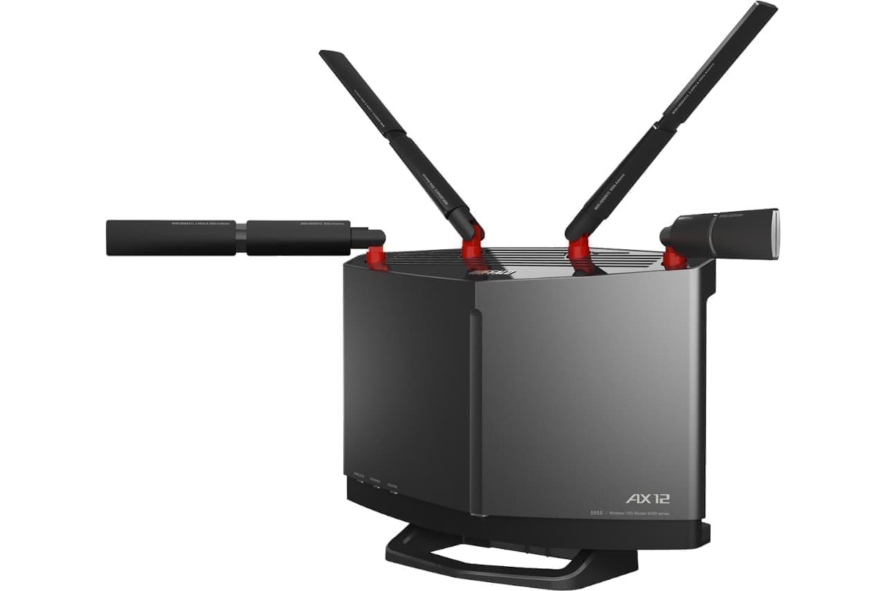 8K動画視聴に耐える家庭用Wi-Fiルーター「WXR-5950AX12」