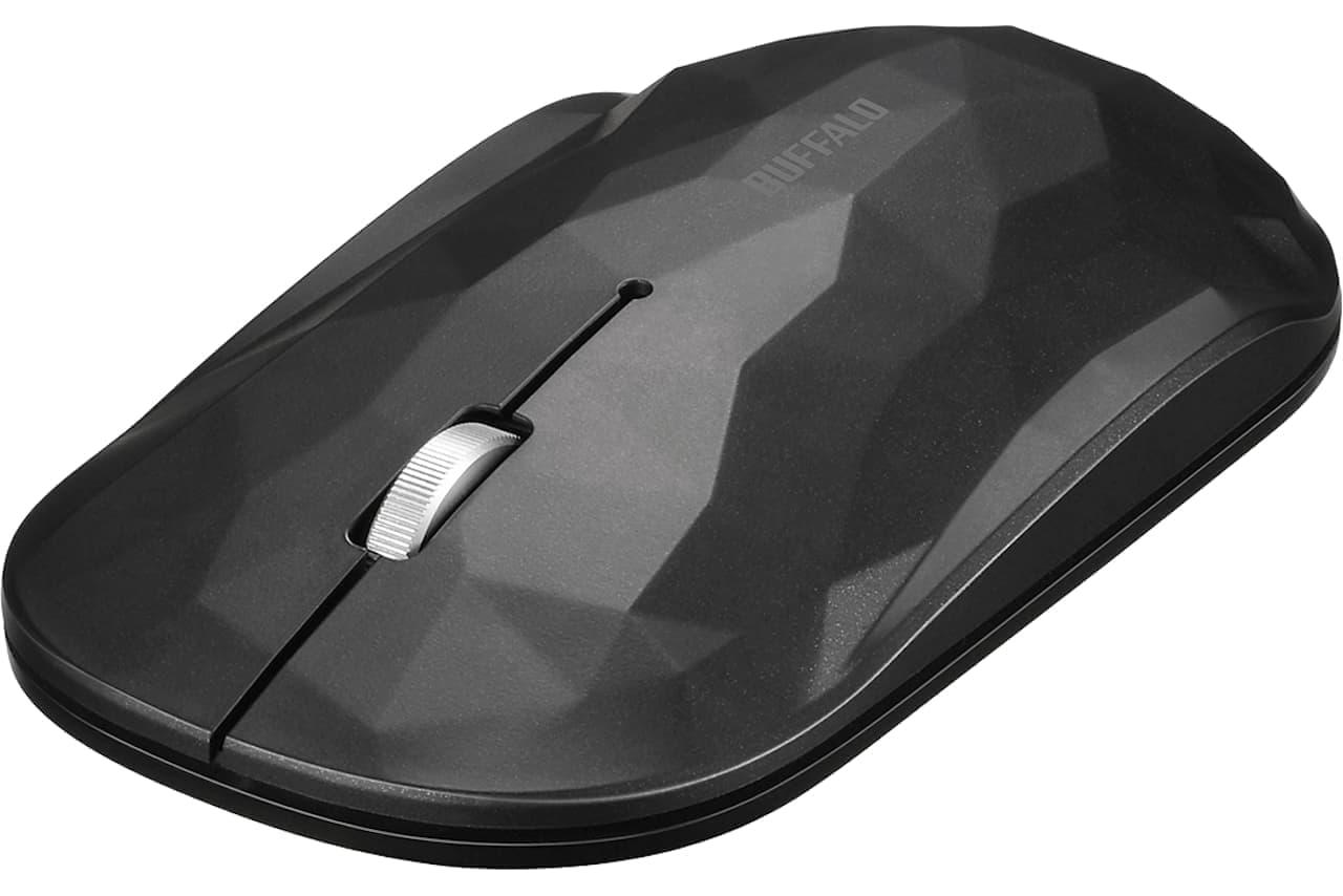バッファロー、持ち運びに特化した薄型マウス