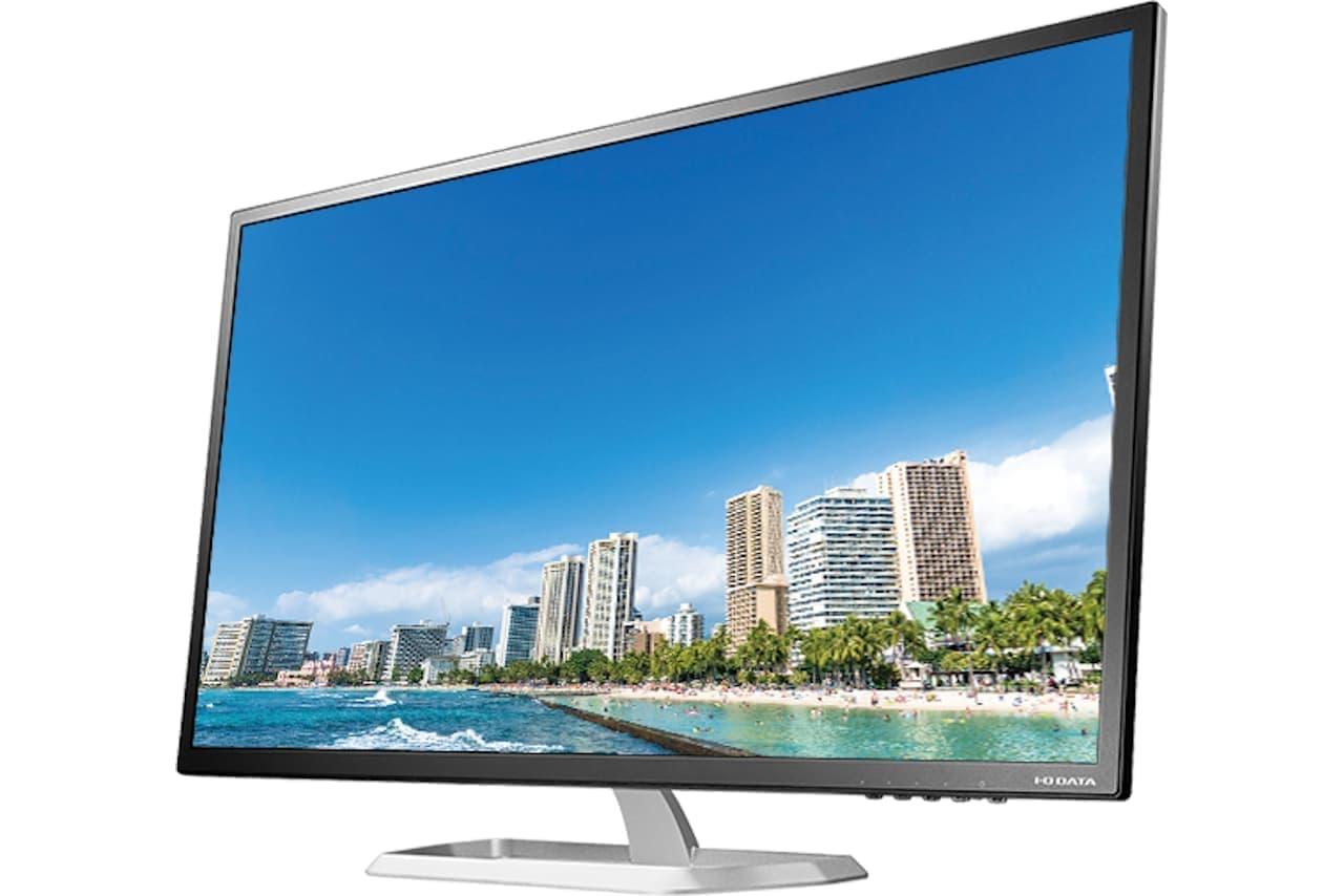 WQHD対応の31.5型液晶ディスプレイ「LCD-MQ322XDB」