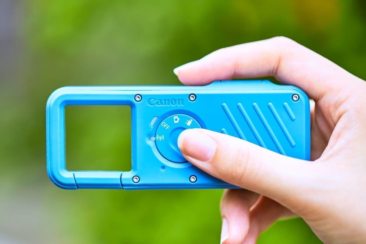 軽く小さなカメラ「iNSPiC REC(インスピック レック)」