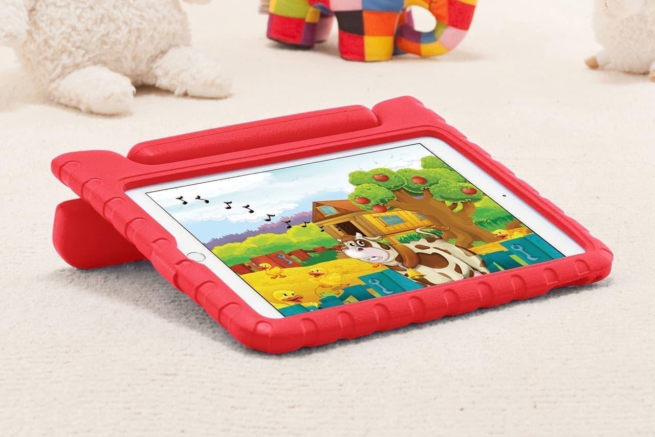 iPad 10.2インチ専用の衝撃吸収ケース「PDA-IPAD1605」