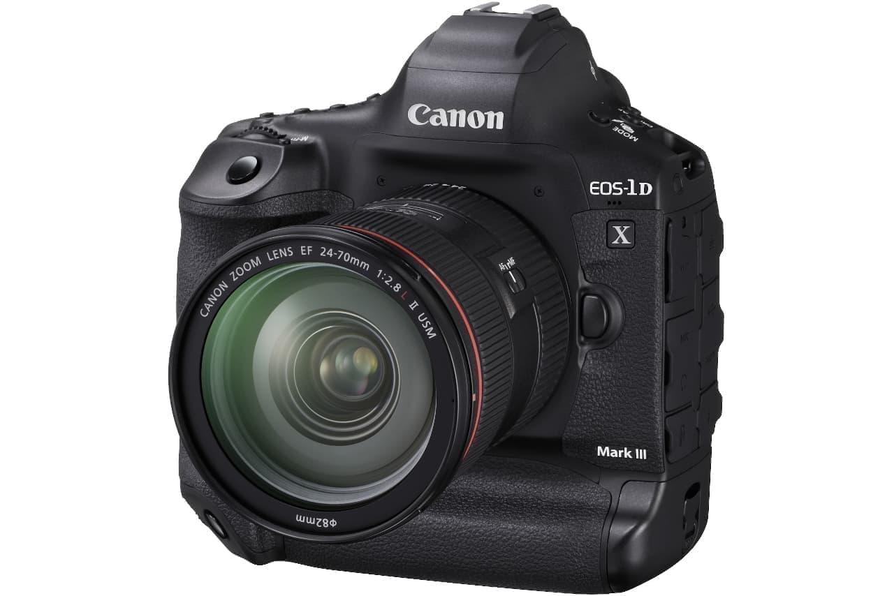 キヤノンのプロ向けカメラ「EOS-1D X Mark III」