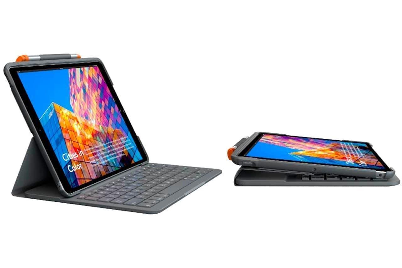 iPad Air第3世代をノートPCに変える「SLIM FOLIO iK1056BK」