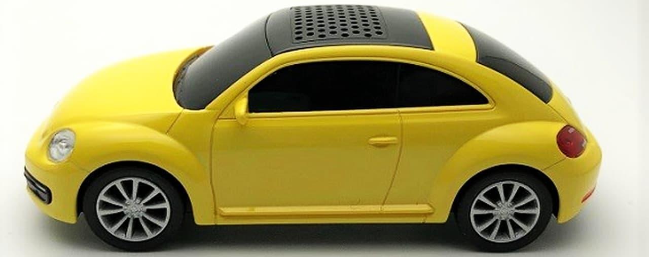 フォルクスワーゲン「The Beetle」型のBluetoothスピーカー販売開始
