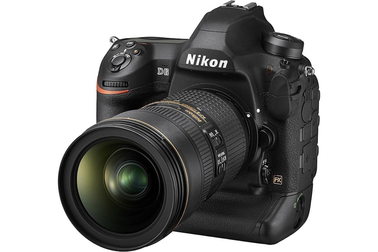 ニコン、デジタル一眼の新フラッグシップ「D6」