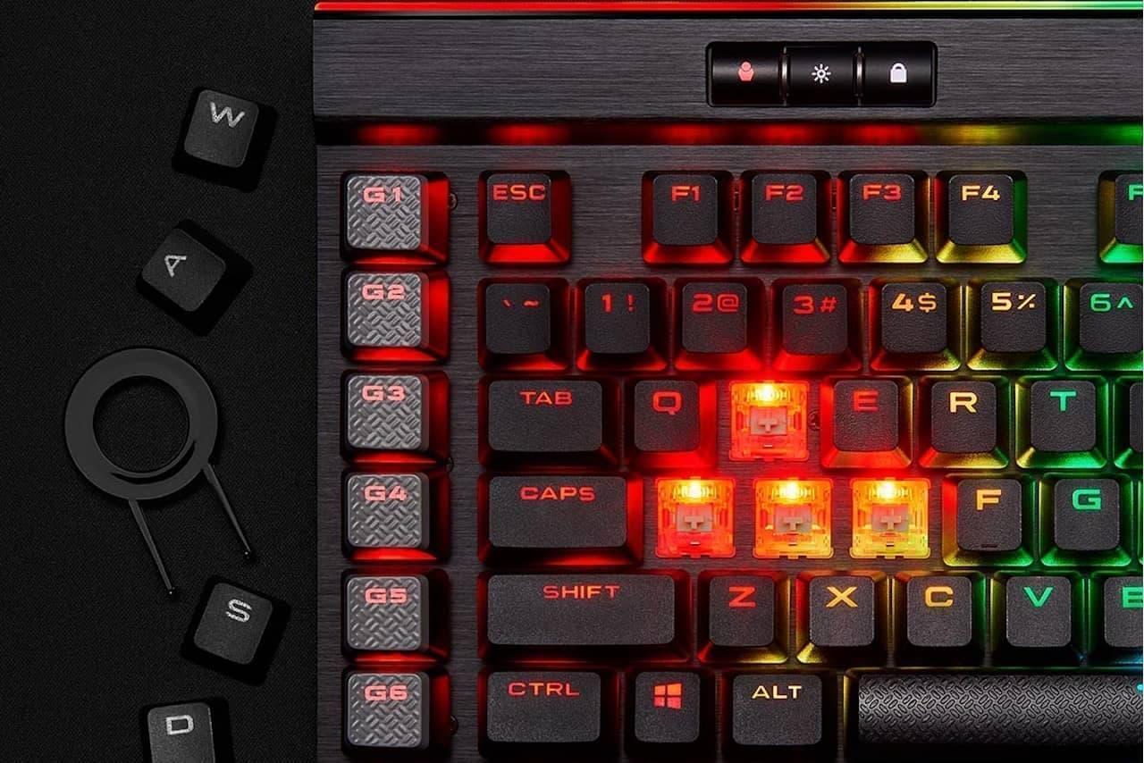 リンクスのゲーミングキーボード「CORSAIR Gaming K95 RGB PLATINUM XT SPEED」