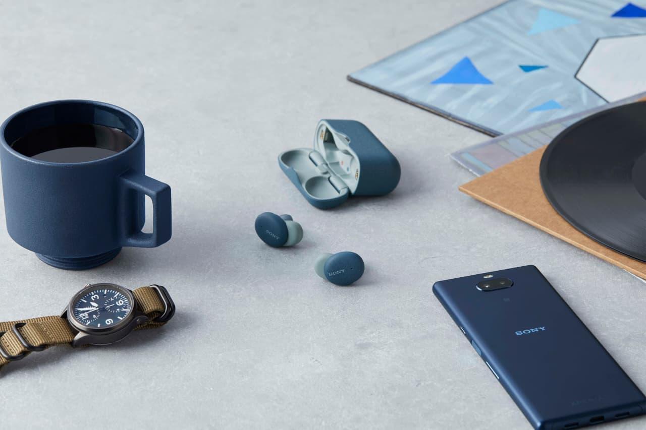 ソニーのBluetooth対応ワイヤレスステレオイヤホン「h.ear in 3 Truly Wireless WF-H800」