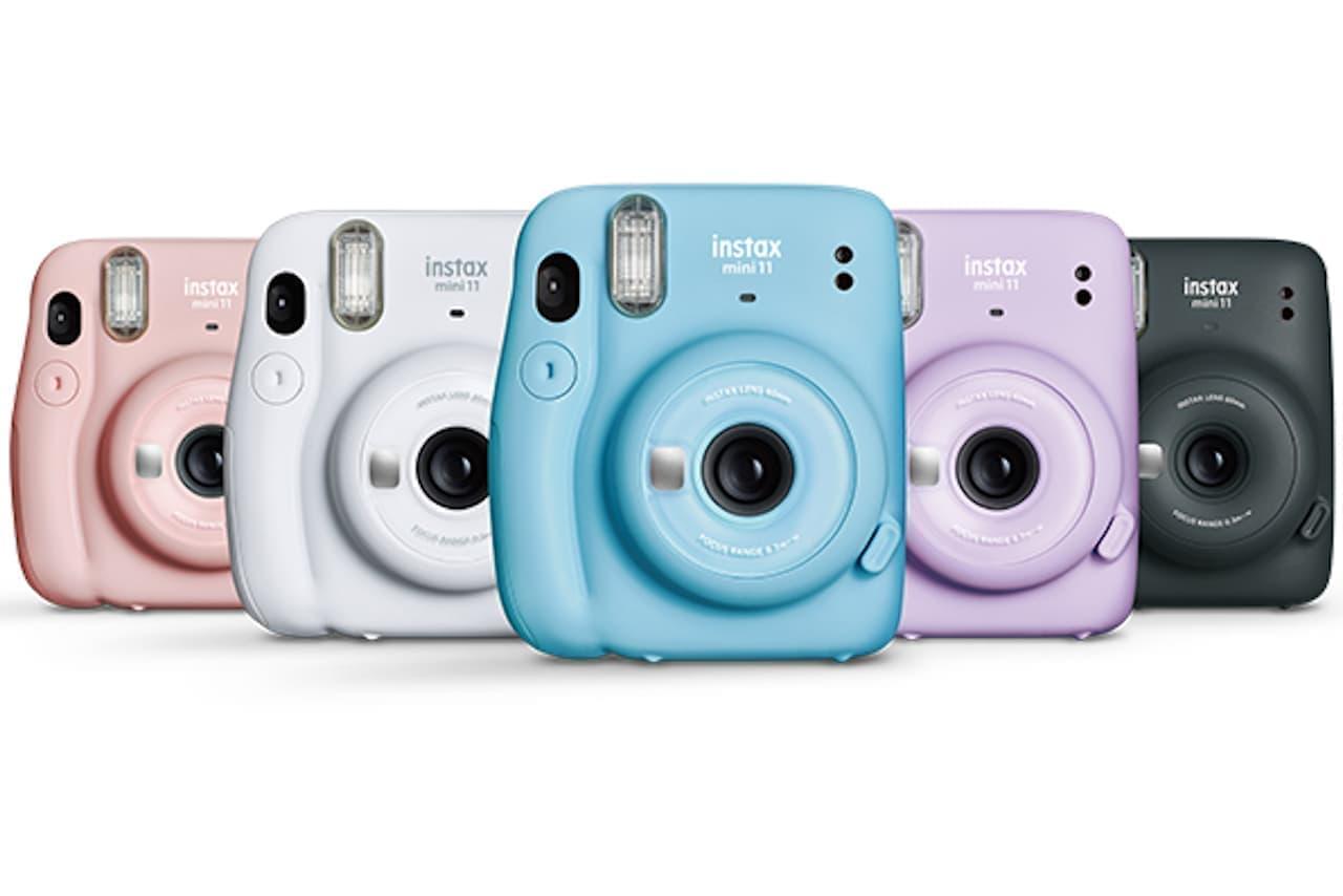 インスタントカメラ「チェキ」に新入門機「instax mini 11」
