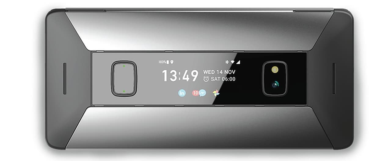 こんなガラケー ありましたよね? ― ポケットに入るAndroid PDA「Astro Slide」