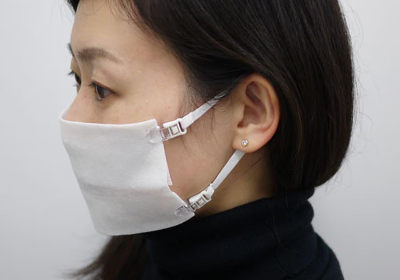 ペーパータオルをマスクにしちゃえ! ― マスク用ストラップ「なんでもマスク」