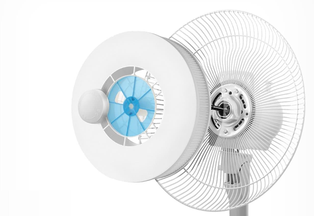 扇風機で花粉やホコリを除去! ― 使い捨て空気洗浄フィルター「洗空気」