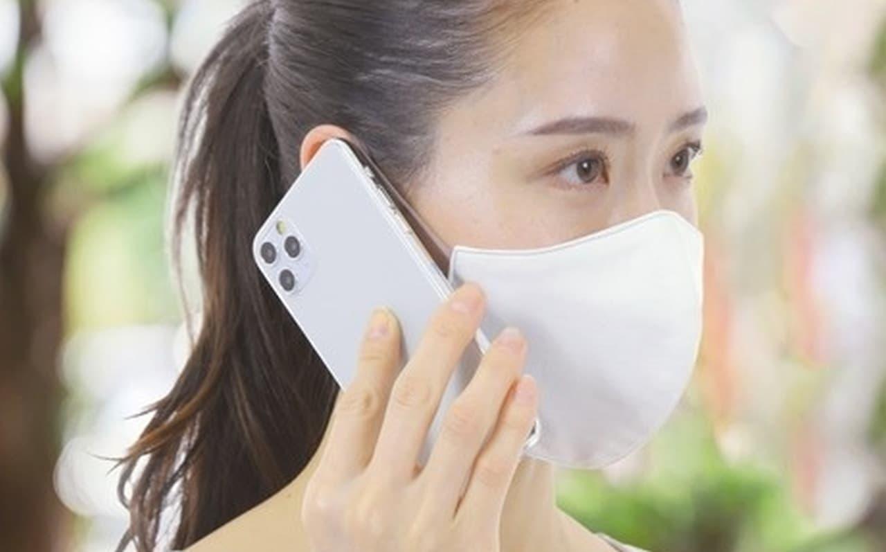 100回洗っても抗菌機能が持続-日本製消臭抗菌マスク
