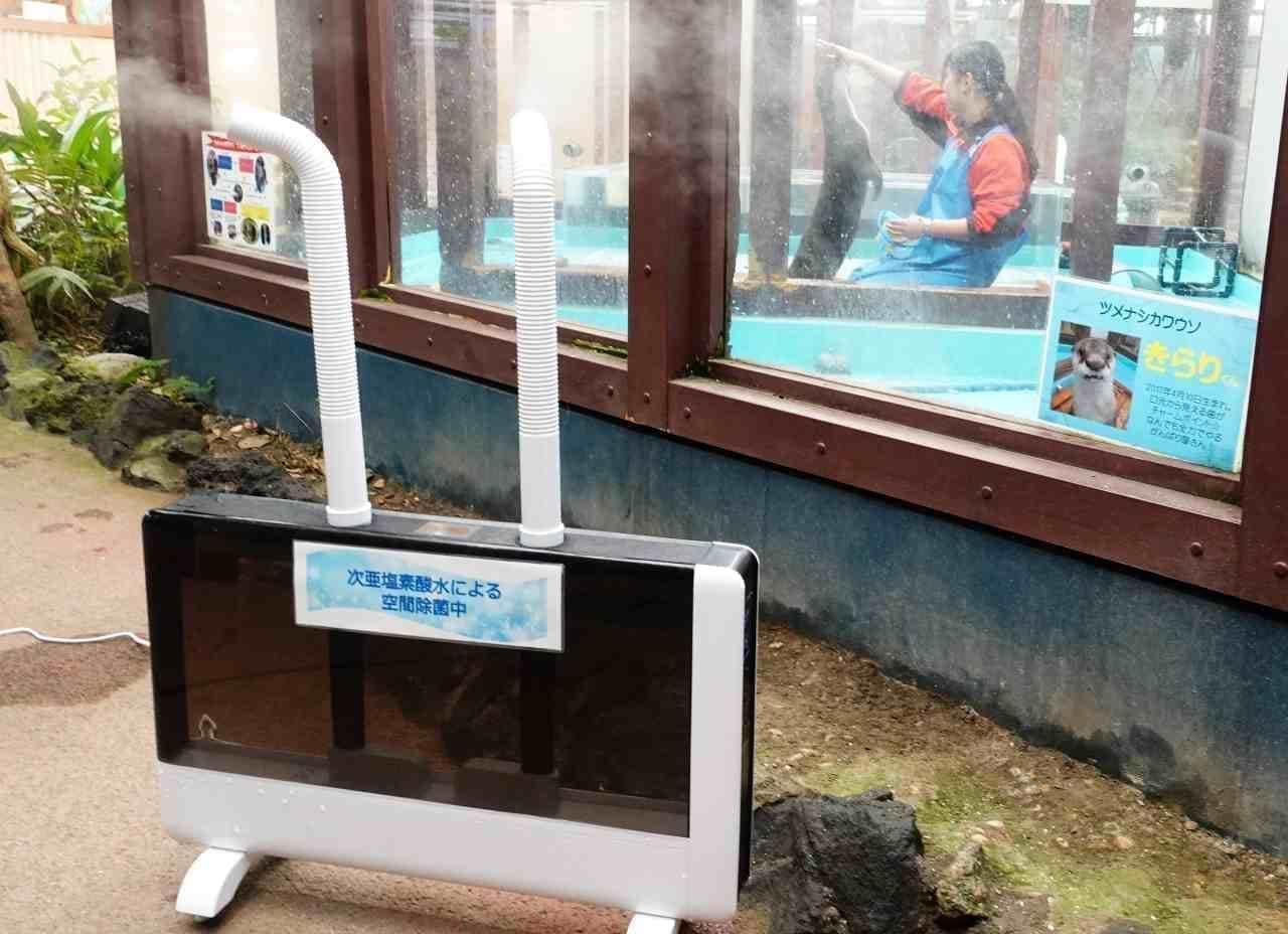 水族館が作った除菌・消臭液「CELA」、まずは法人向けに販売