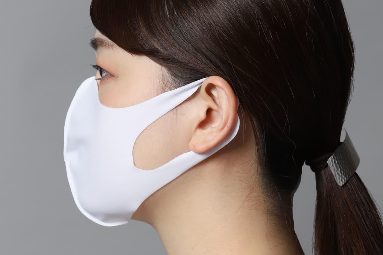 繰り返し使える水着素材のマスク「ウォッシャブル マスク」