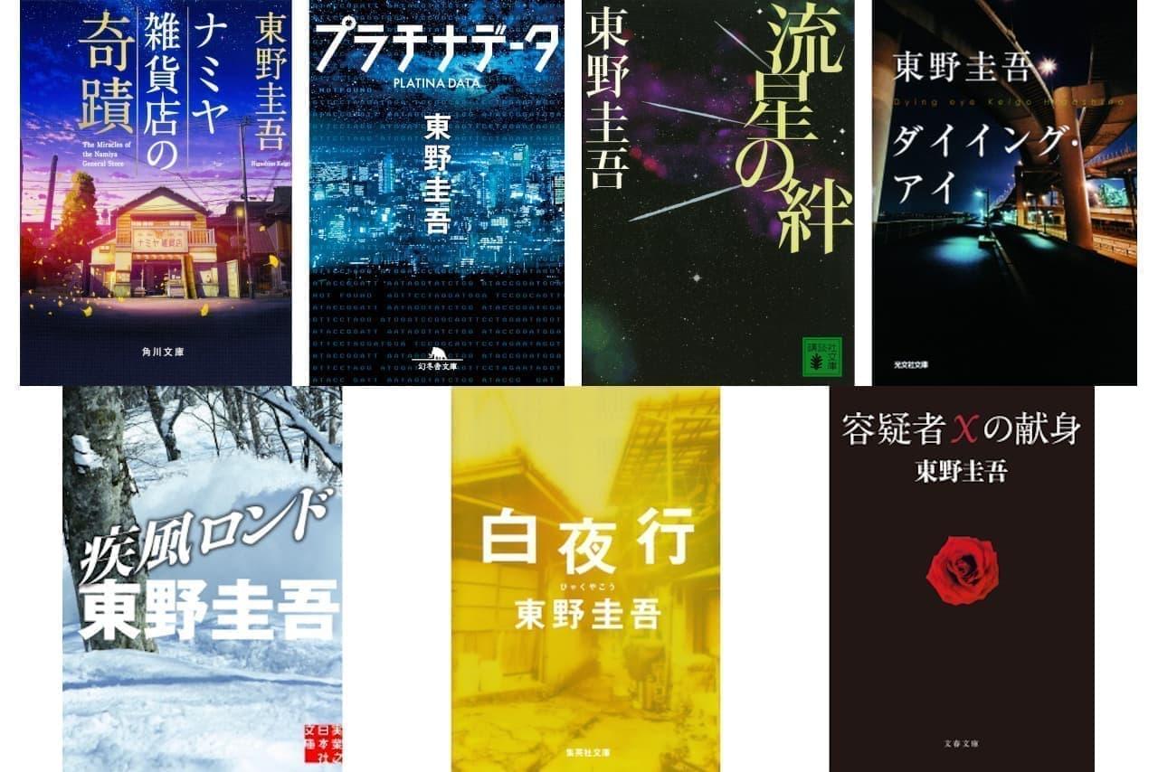 「容疑者Xの献身」など東野圭吾作品が初の電子化