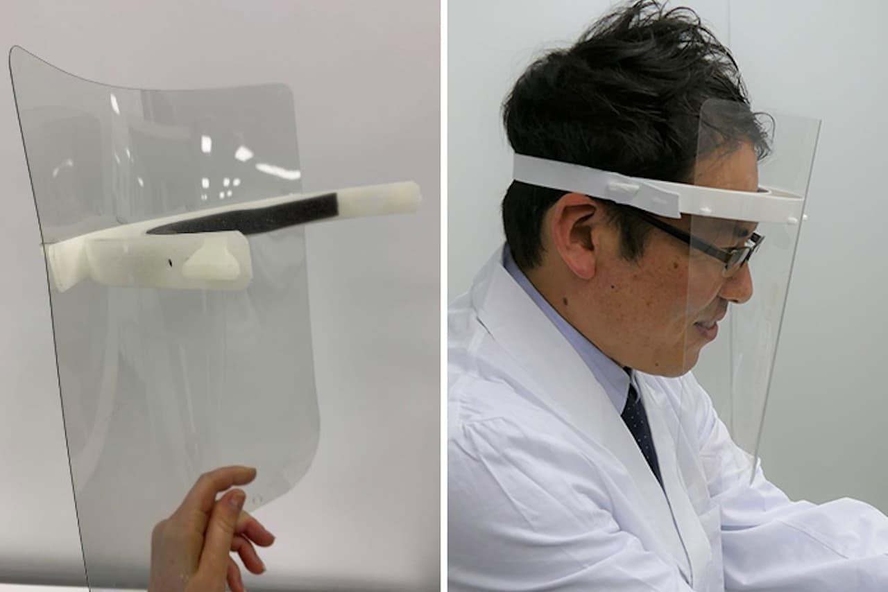 リコーもフェイスシールド生産 ― 3Dプリンターなど活用