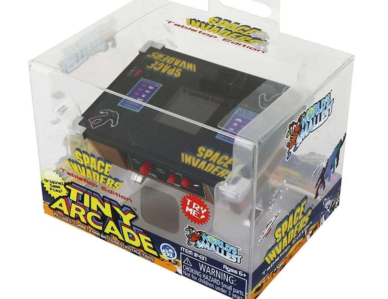 世界最小のスペースインベーダー「Space Invaders Tiny Arcade Tabletop Edition」