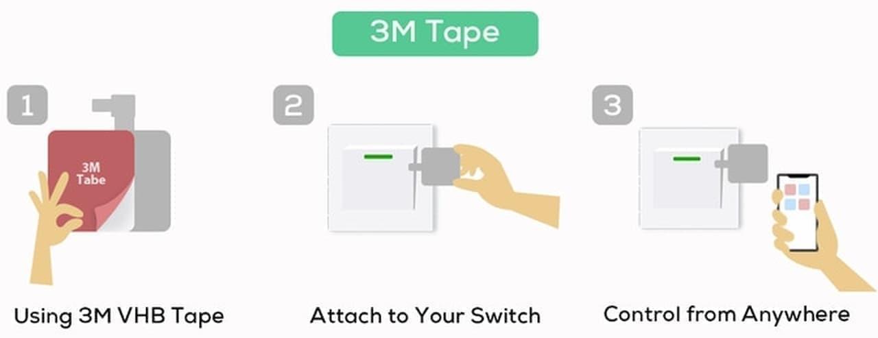 【コロナ対策】スイッチからのウイルス再付着を防ぐ「Fingerbot」
