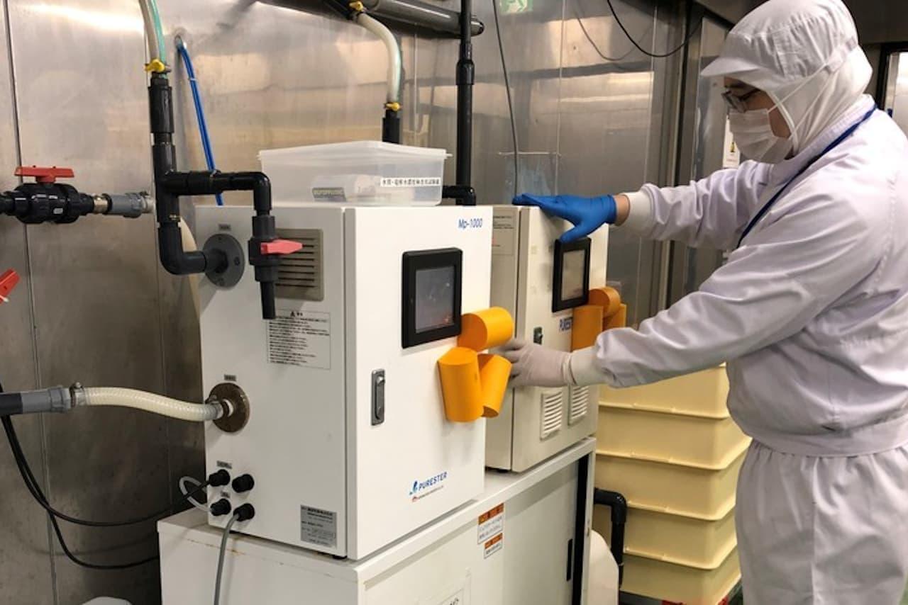くら寿司 自社製の消毒用「微酸性電解水」を無償提供