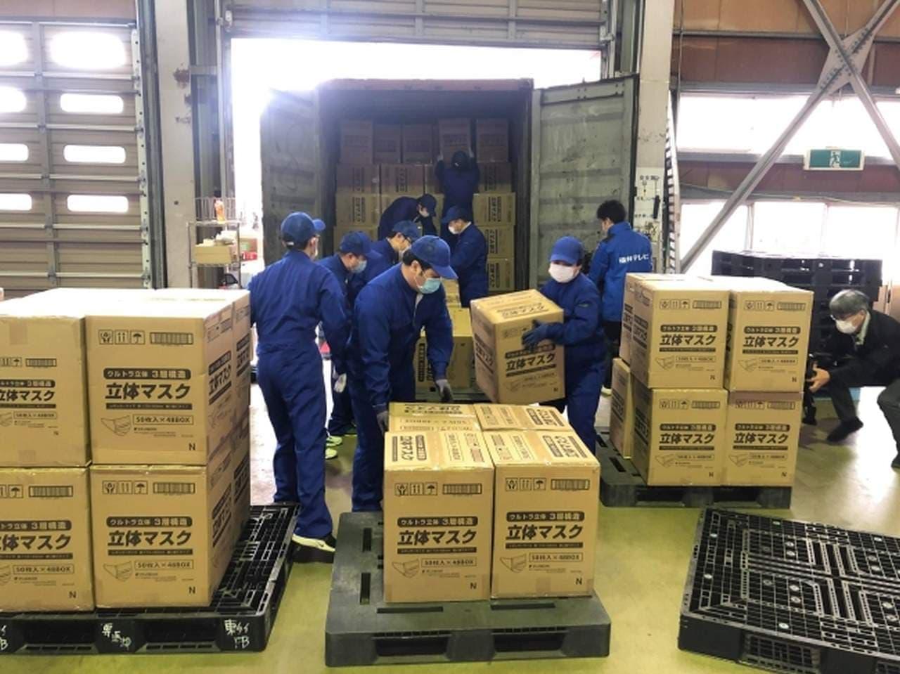 福井県「マスク購入券」で話題のフジコン 5月1日から日本全国にマスクを6,000万枚/月供給へ