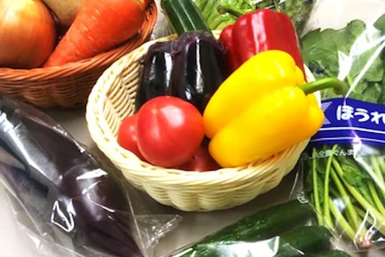 市場の野菜・魚を通販する「大田市場直送.com」