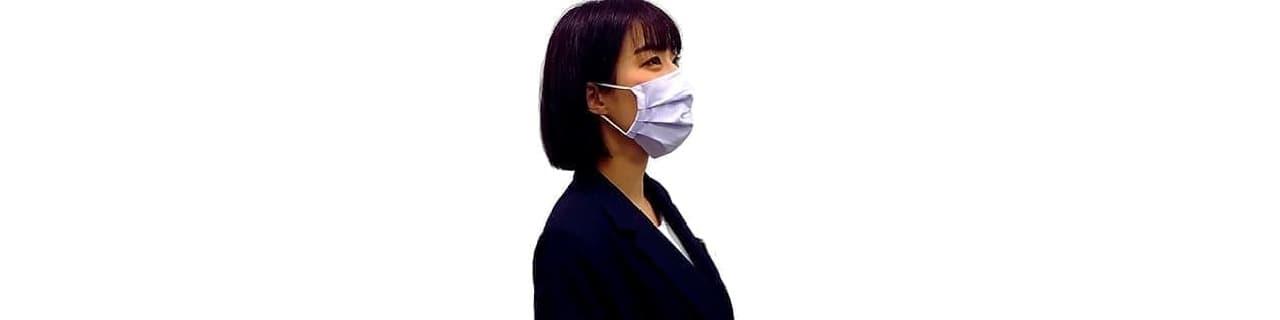 アイロンがけのいらない「形状安定マスク」5月7日発売 ― Yシャツ生地で製造