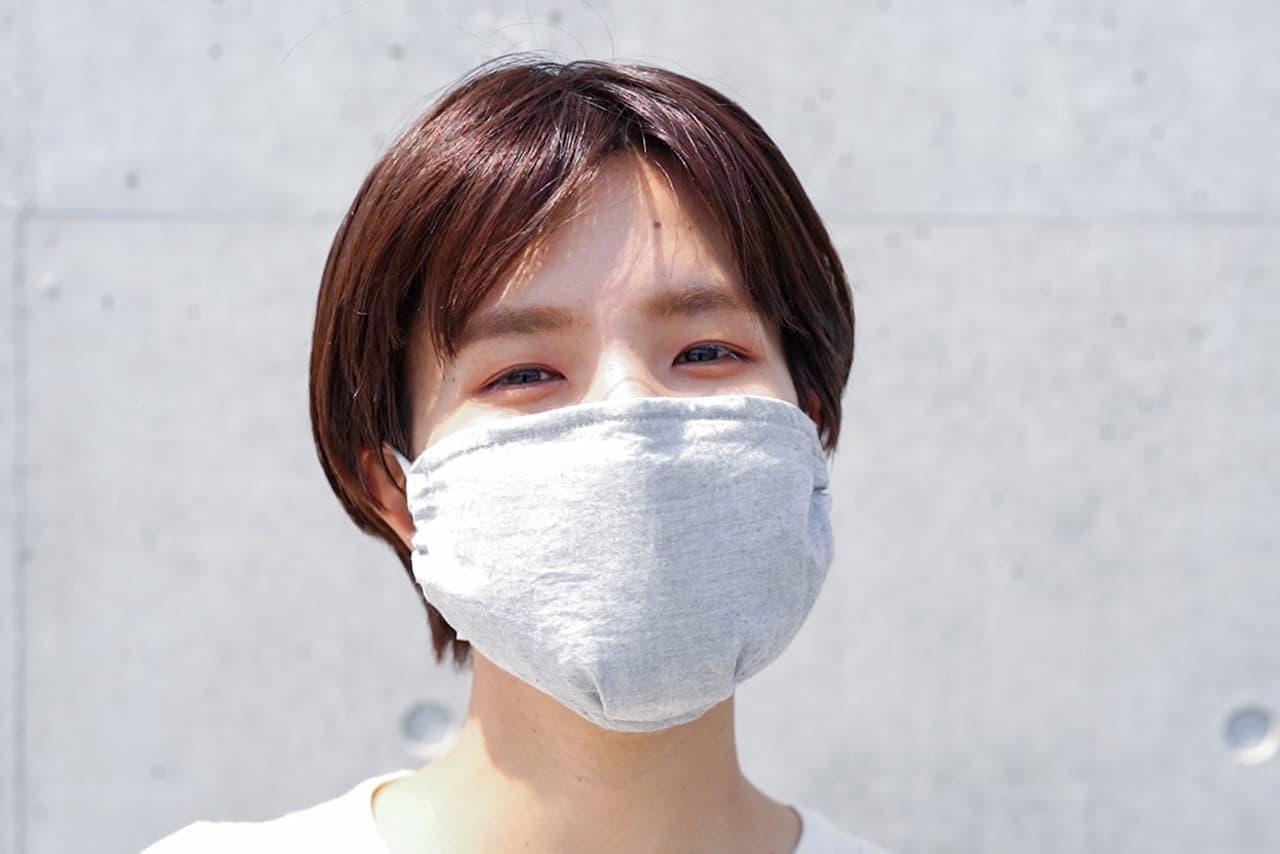 繰り返し洗って使える台湾製マスク「結/ゆい」