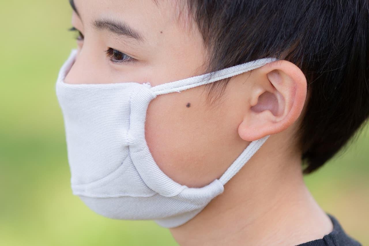 洗える国産ニット製マスク「みんなのマスク」快調
