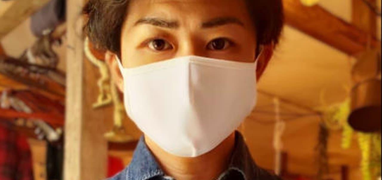 洗濯機で洗えてすぐに乾くマスク「Ms Threeマスク」 ― スポーツウェアと同じ素材を採用