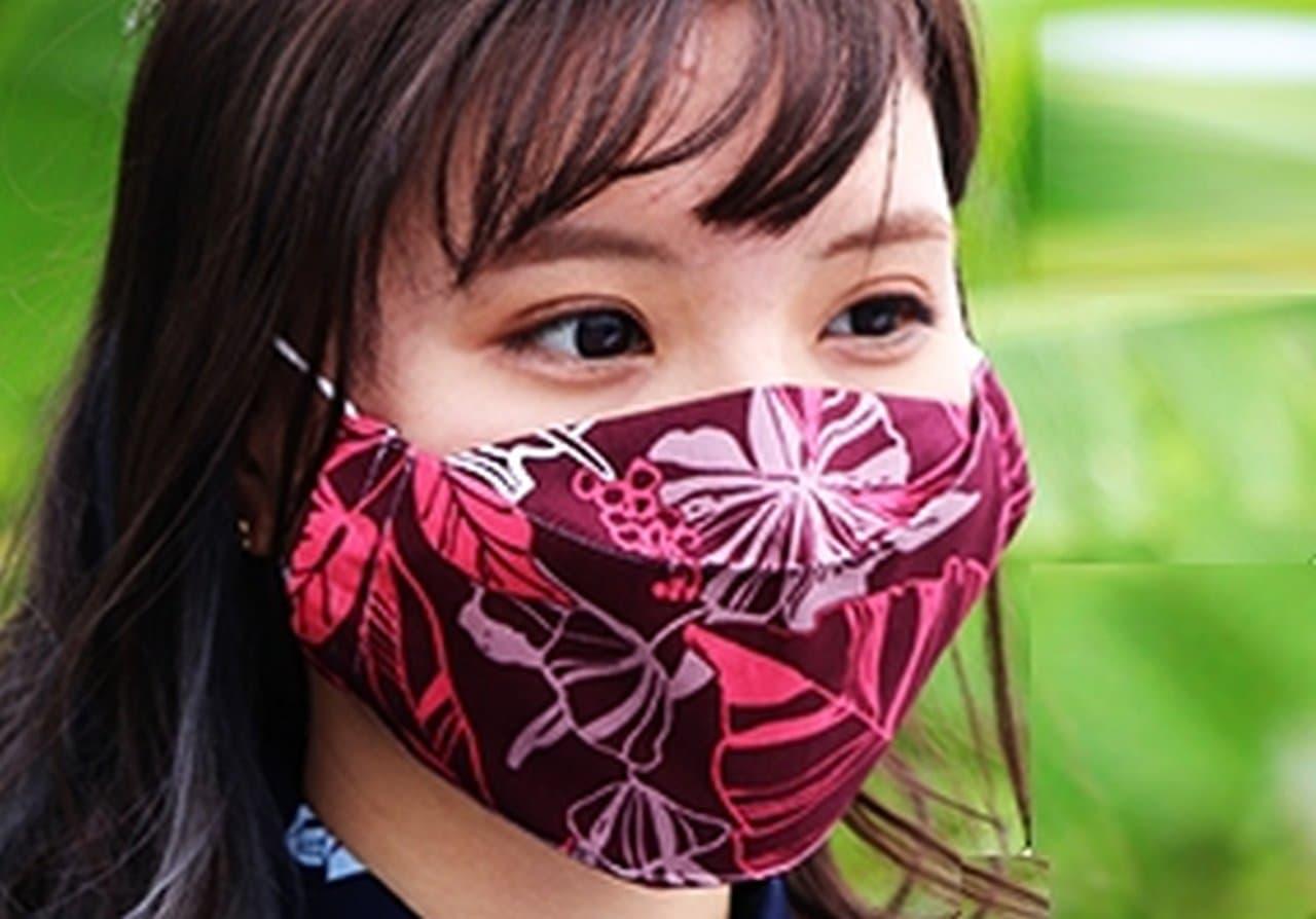 かりゆしウェア生地で見た目も涼しいマスク「MAJUNオリジナル布マスク」販売開始