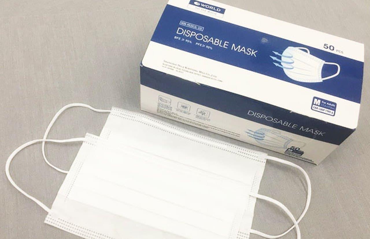 アパレルブランド「ワールド」が国内自社工場生産の「洗える抗ウイルスマスク」などを発売